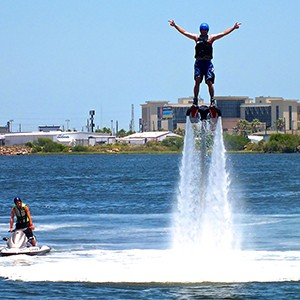 This is truly an experience that you don't want to miss and the best part is that most any able-bodied person can do it and the more you fly the better you become!